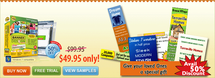 Make attractive Banner Designs using Flash Banner Maker