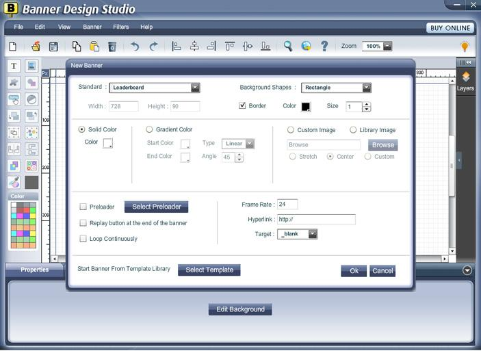 Banner Design Studio screenshot